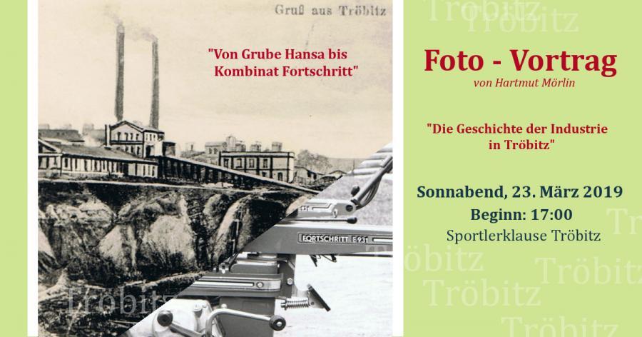 Vortrag Industriegeschichte Tröbitz
