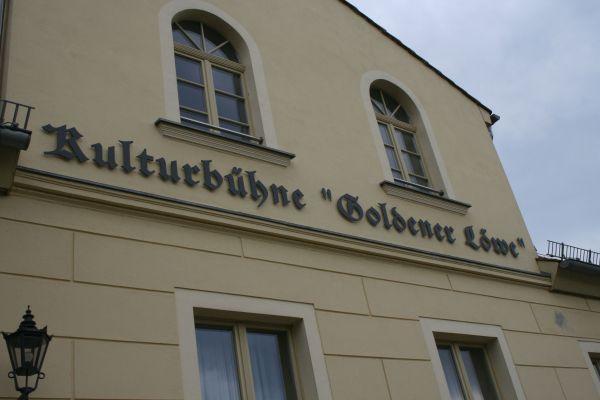 Goldener Löwe_Foto: Gemeinde Wandlitz