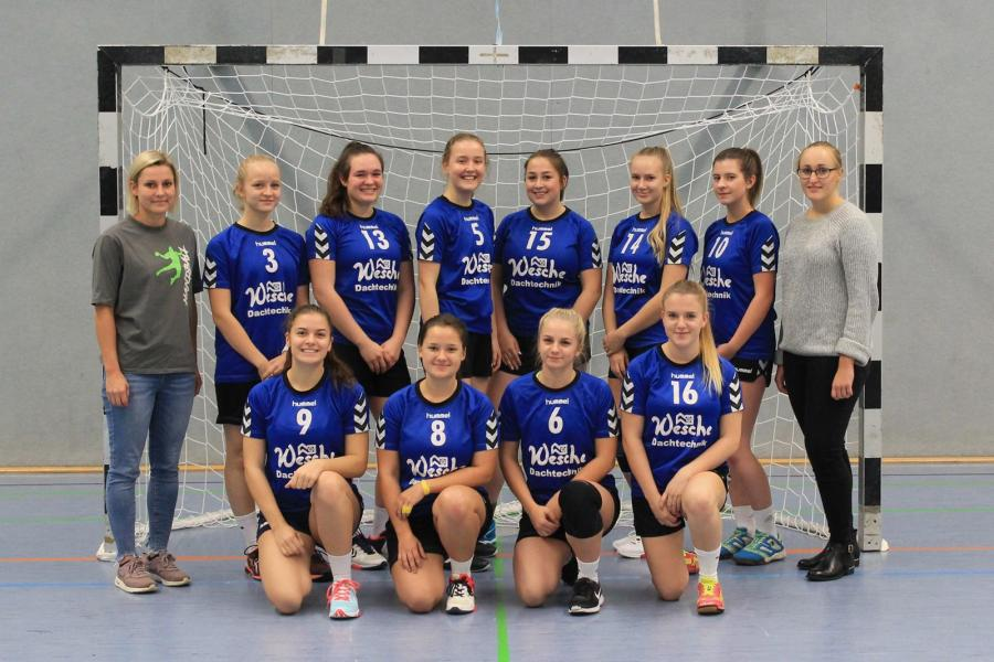 Mannschaftsfoto der WA-Jugend (Saison 2018/19)