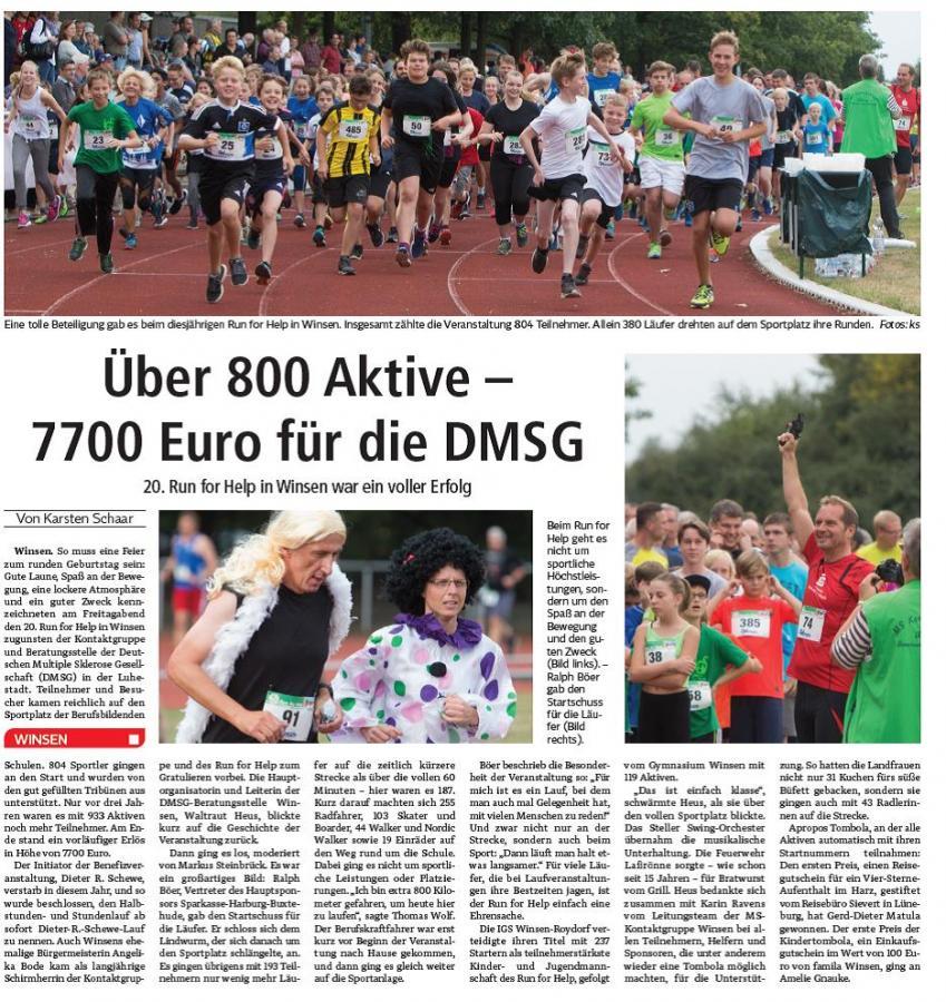 Winsener Anzeiger 05.09.2016