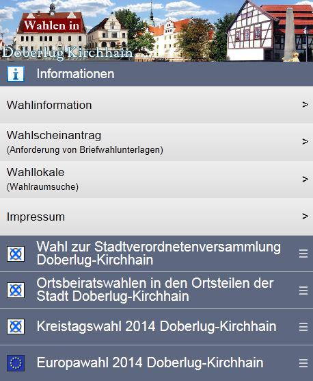 Wahl-App Doberlug-Kirchhain
