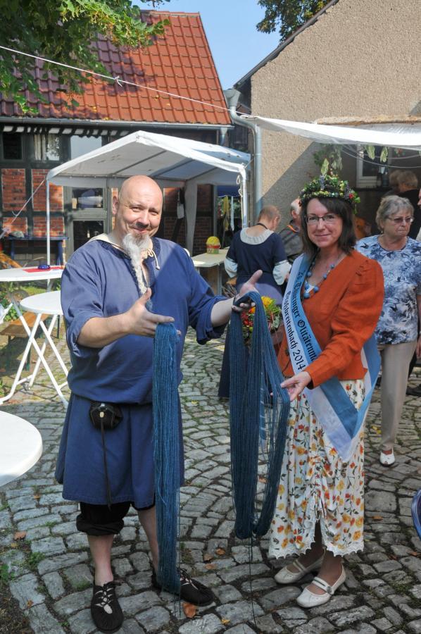 Waidfest, 2014 Erfurt-Hochstedt