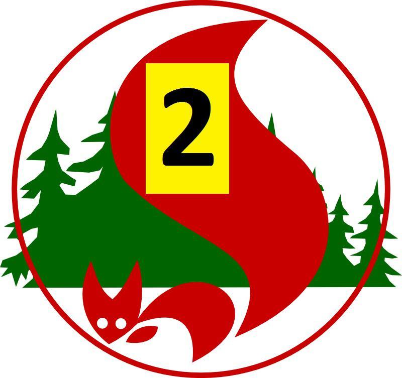 Waldbrandgefahrenstufe 2
