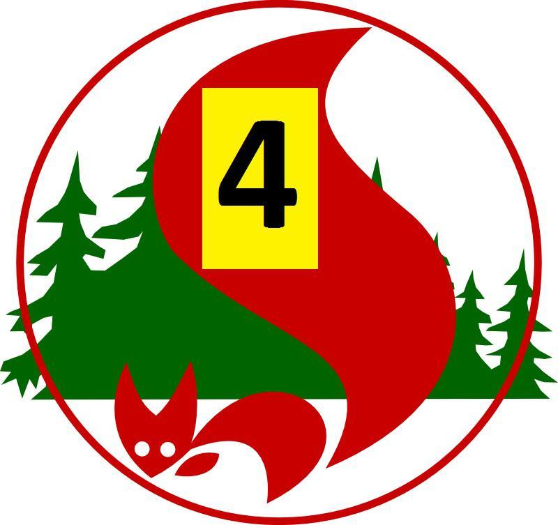 Waldbrandgefahrenstufe 4