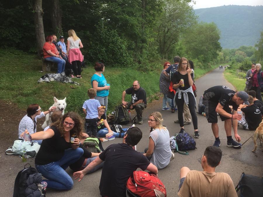 Wanderung zur Waldeslust - Kirmesmontag 2018