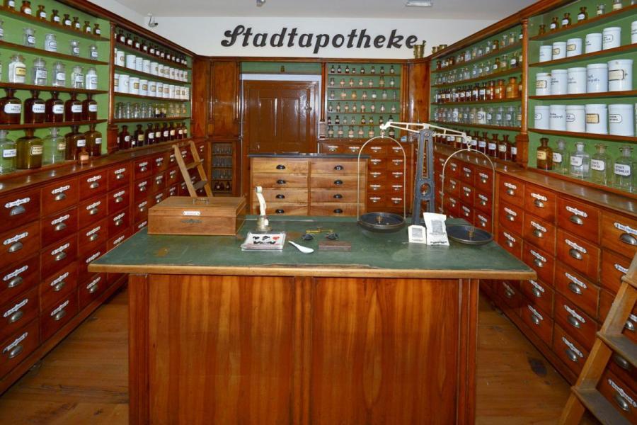 Historische Stadtapotheke im Zwieseler Waldmuseum