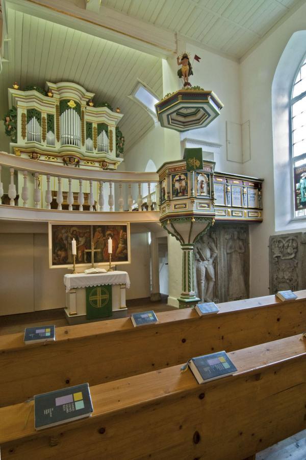 Walldorfer Kirche von 1650