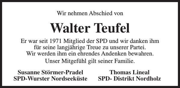 Walter Teufel