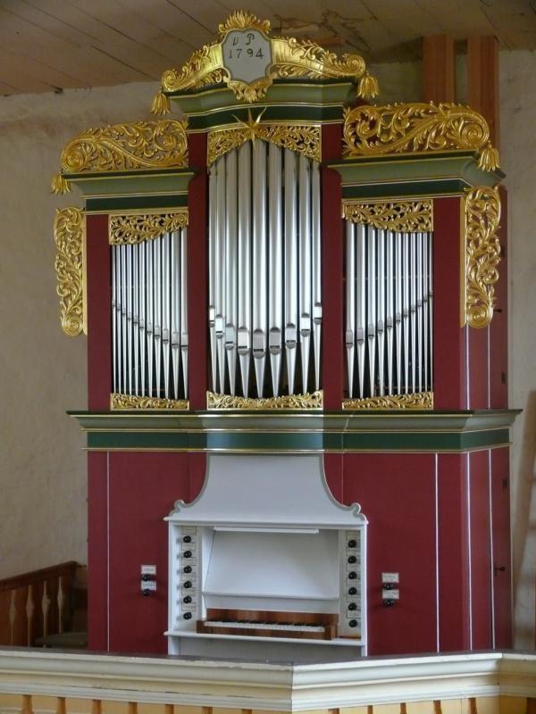 Waltersdorfer Claunigk-Orgel