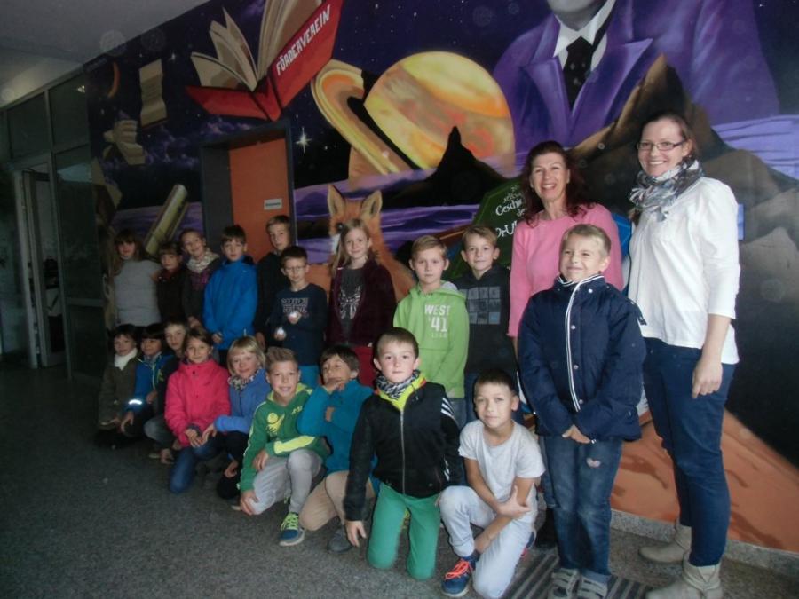 Wandbild mit Kindern
