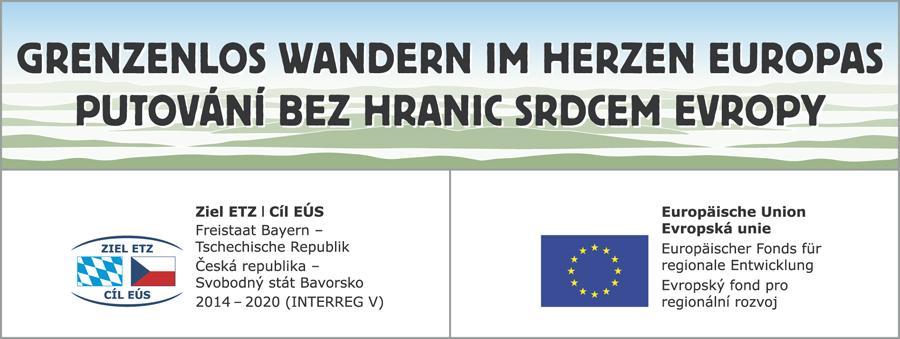 Wandern im Herzen Europas - Förderhinweis