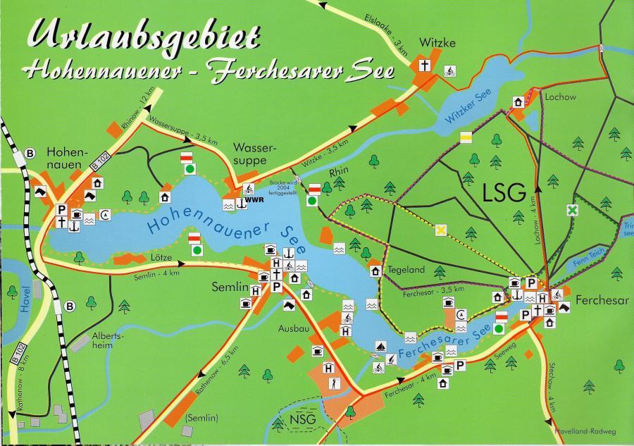 Karte Seerundweg