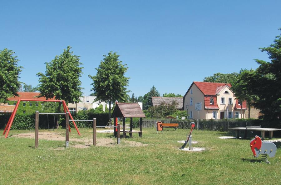 Wandlitz Spielplatz Kirchstraße, Foto: Gemeinde Wandlitz