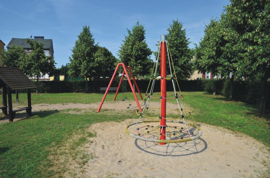 Wandlitz Spielplatz Kirchstraße Kletterelement, Foto: Urrutia