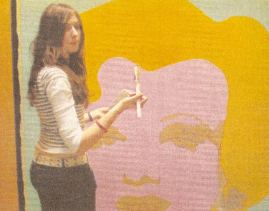 Wandmalerei in der RSL