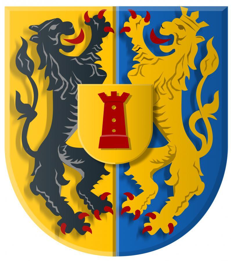 Das Wappen von Born
