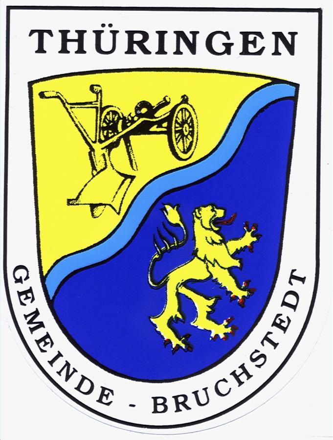 Wappen der Gemeinde Bruchstedt