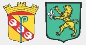 Wappen von Frouard und Pompey