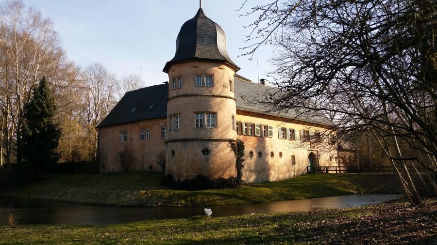 Eine Augenweide: das Schloss in Schnabelwaid