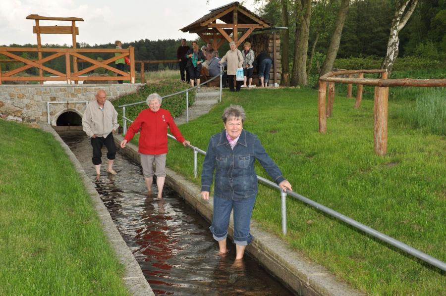 Wassertretstelle Schwiesau