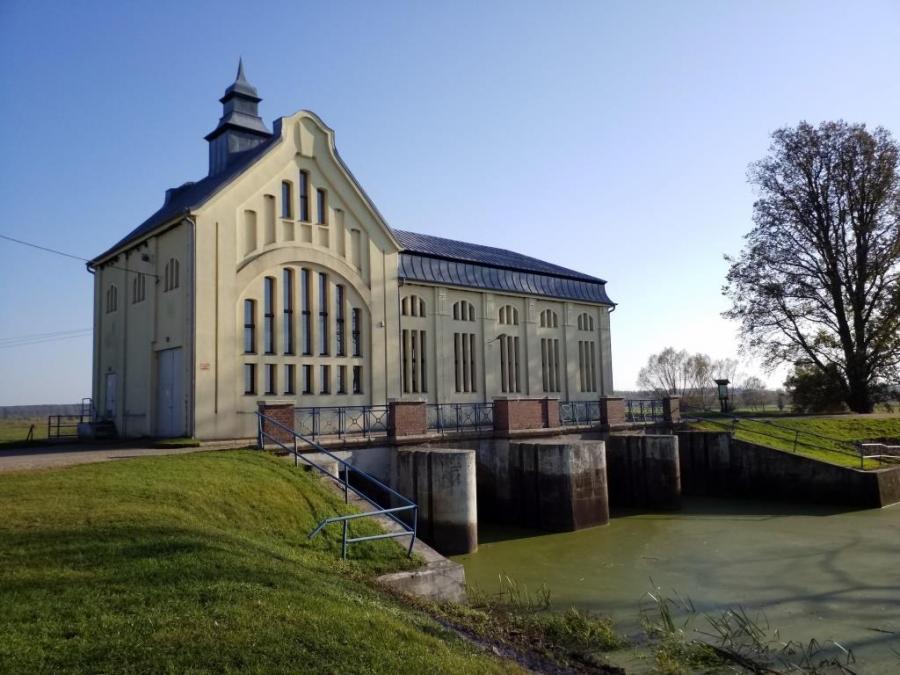 Wasserwerk in Sonnenburg, Foto: Klaus Ahrendt