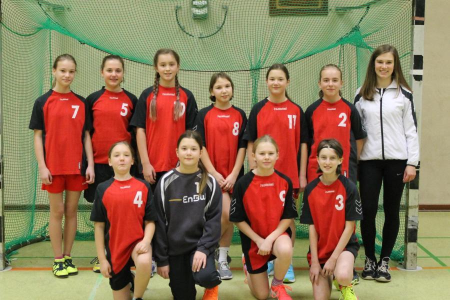 Mannschaftsfoto der WD-Jugend (Saison 2017/2018)