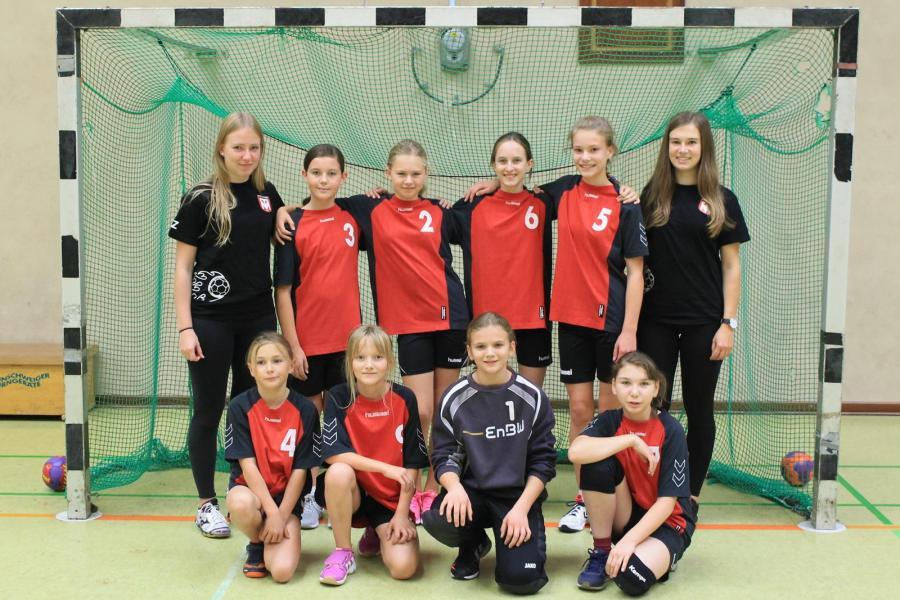 Mannschaftsbild der WD-Jugend (Saison 2018/2019)