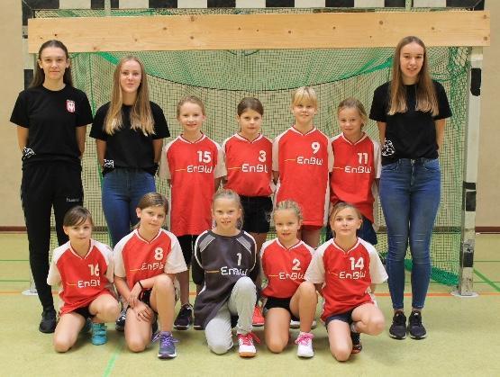 Mannschaftsfoto der WE-Jugend (Saison 2018/19)