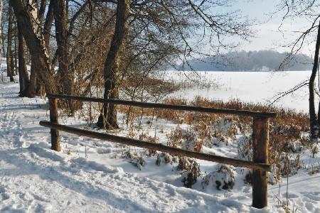 Winterwanderung am See, Foto: Gerigk