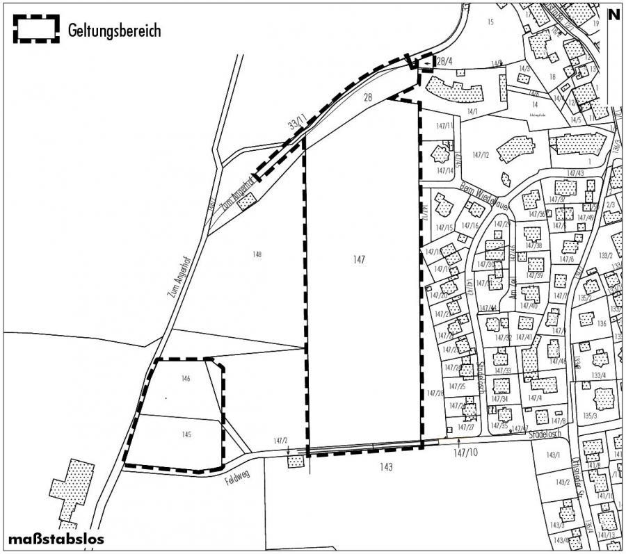 """Bebauungsplan """"Haldenwang-Stadelösch II"""""""