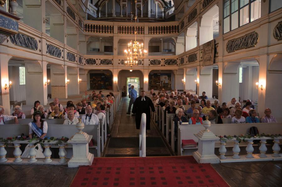 Kräutergotttesdienst in der St. Trinitatis Kirche, Großbreitenbach