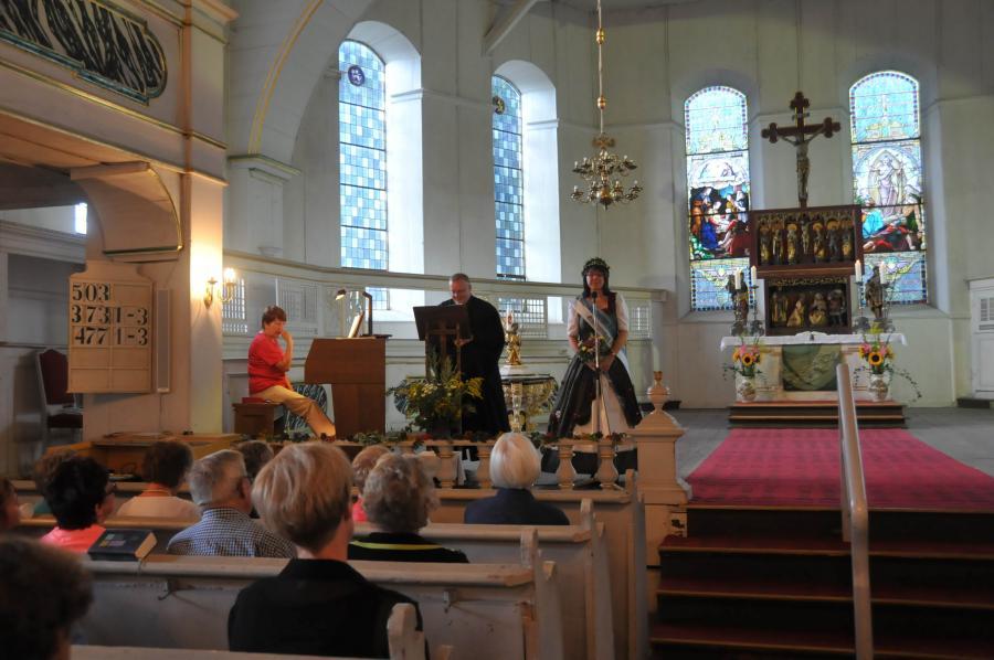 Kräutergottesdienst zu Mariä Himmelfahrt, Großbreitenbach