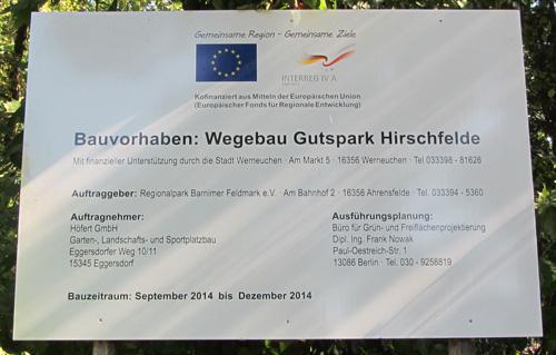 Wegebau Hirschfelde