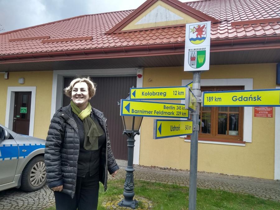 Bürgermeisterin Bernadet Borkowska