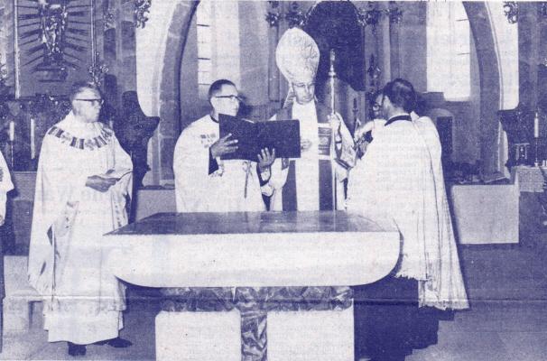 Konsekration Kirche Miltach