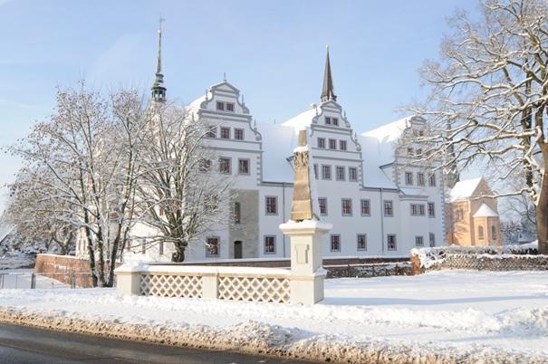 Winterimpression Schloss Doberlug
