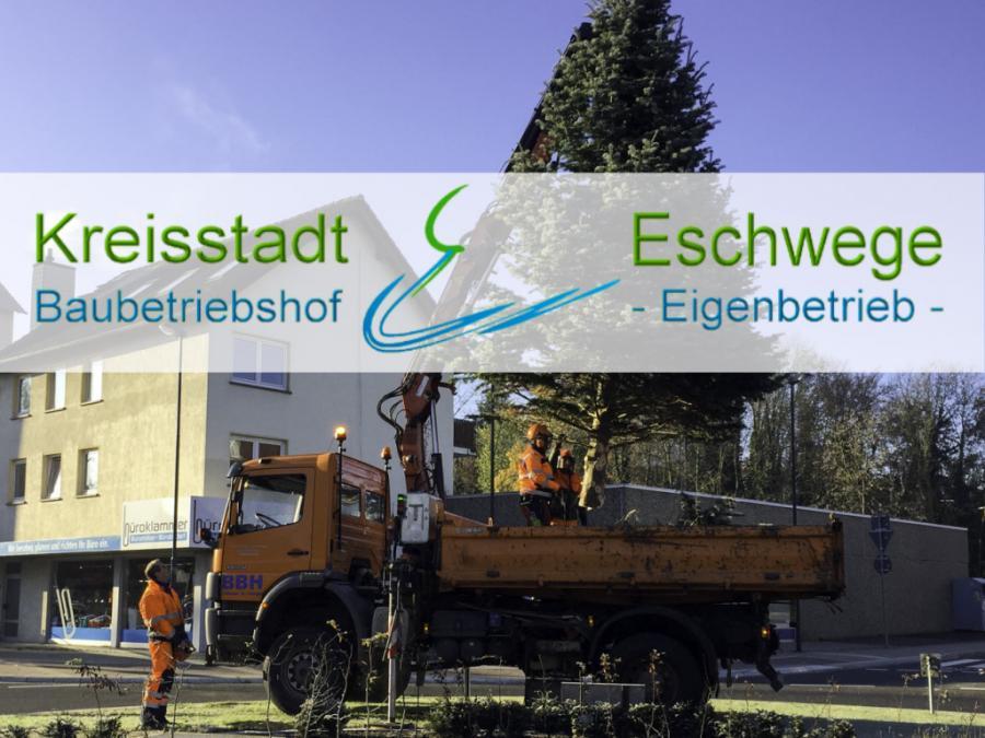 Weihnachstbaum am Kreisel -mit freundlicher Genehmigung Büroklammer M.Claus