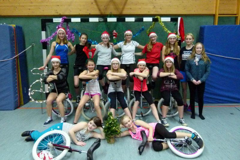 Weihnachtsfeier 2014 Junior Profis