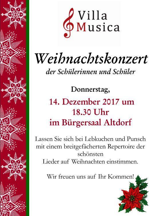 Weihnachtskonzert2017