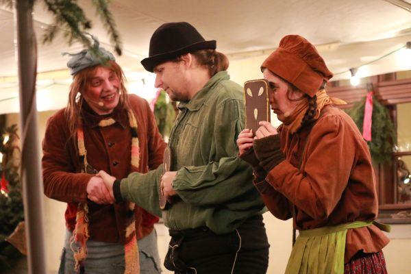 Hänsel und Gretel_Märchenhafter Weihnachtsmarkt_Foto: Museum OSL