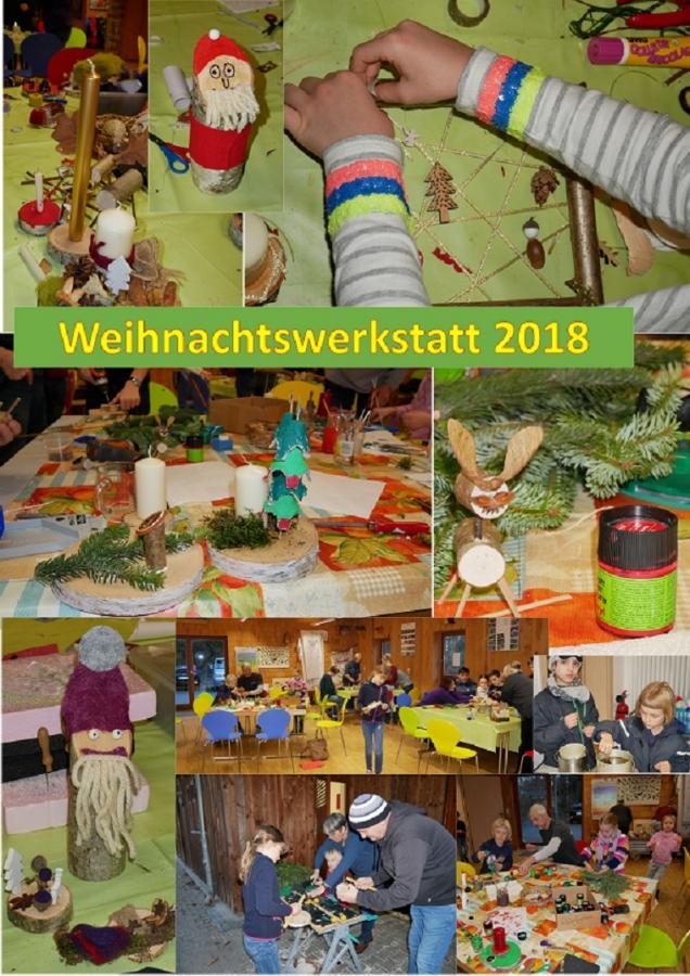 Weihnachtswerkstatt Dez. 2018