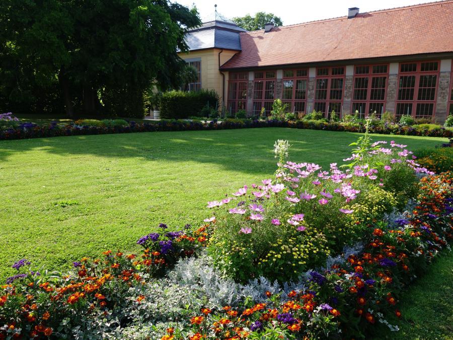Weimar Schloss und Park Belvedere und Orangerie