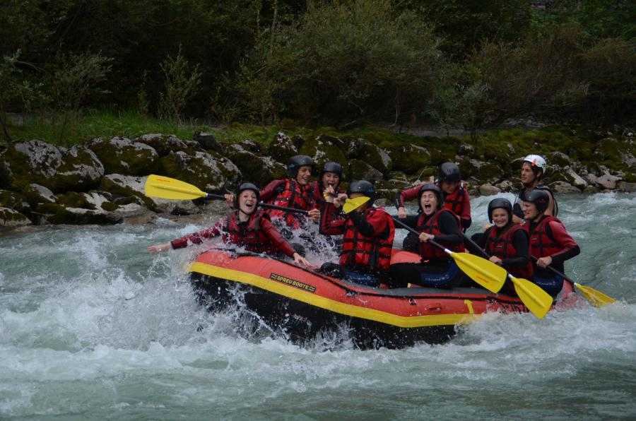Rafting Weitenmoos 2013