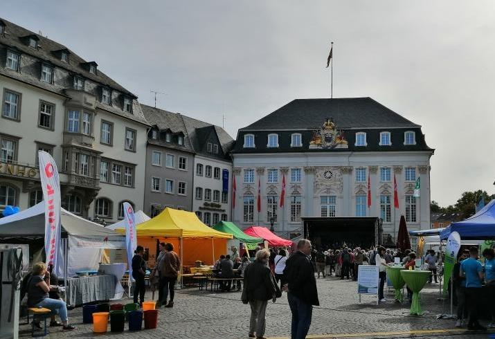 Weltkindertag 2019, Bonner Marktplatz