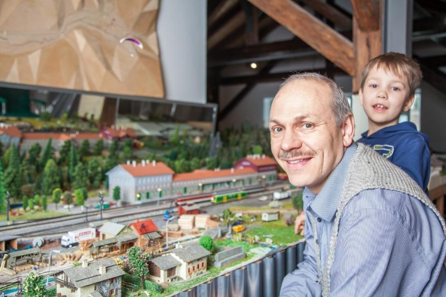 NaturparkWelten- Modelleisenbahn