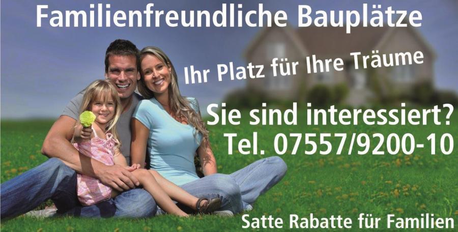 Ideale Bauplätze für junge Familien in Herdwangen-Schönach