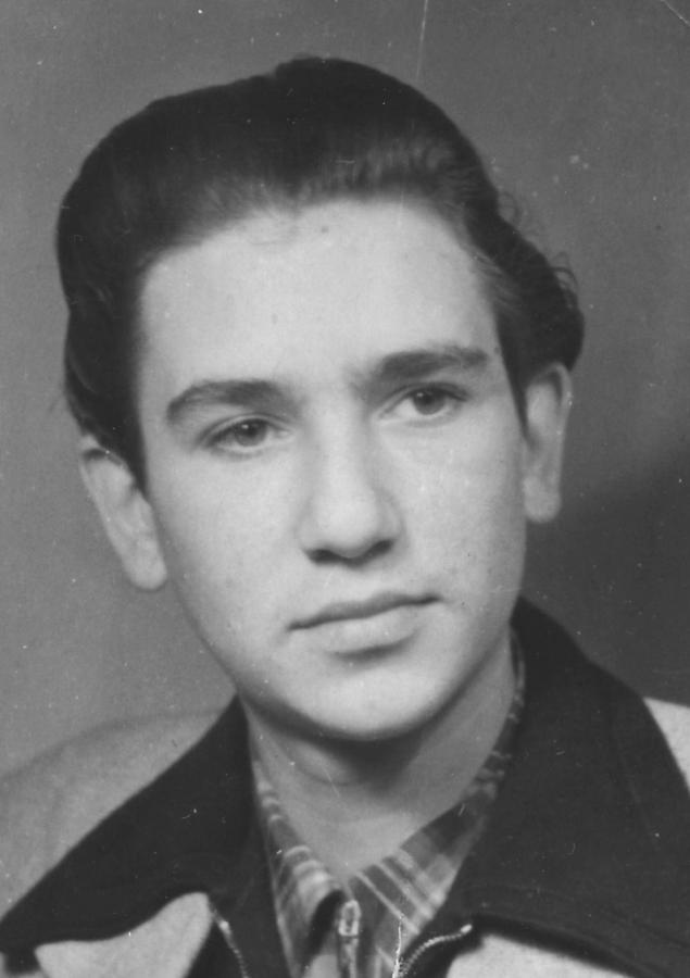 Werner Salewski, etwa 1952