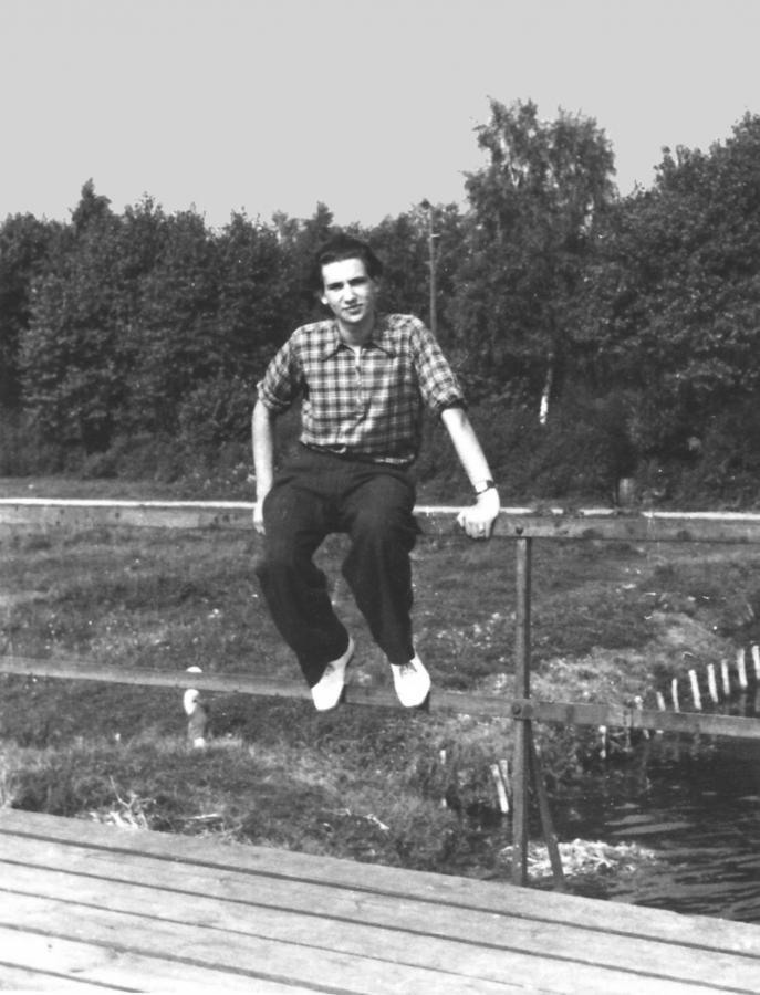 Werner Salewski, etwa 1953