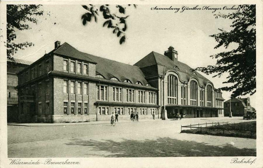 Wesermünde -Bremerhaven Bahnhof