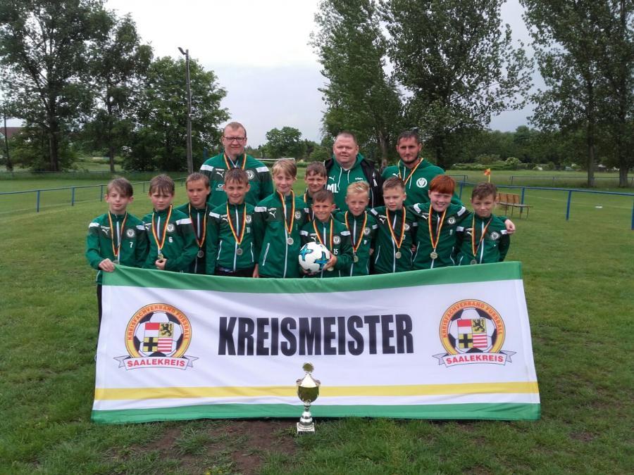 E-Jugend: SV Merseburg 99
